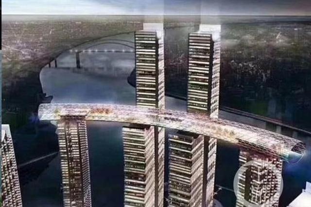 """国内首个""""横向摩天楼""""现身重庆 创世界之最(图)"""