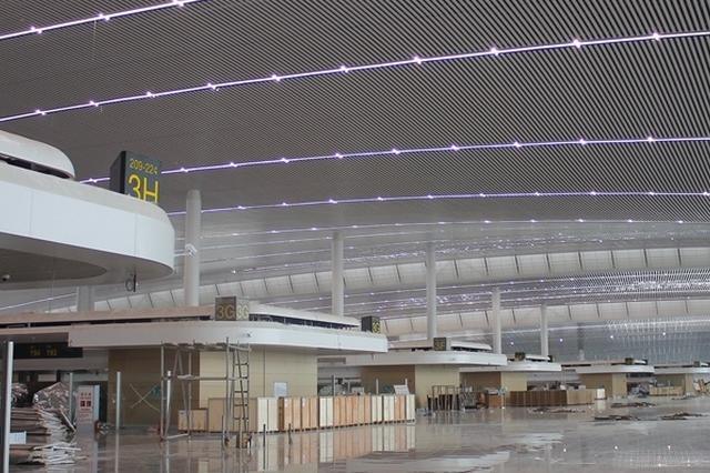 机场摆渡车发车间隔有调整 25日新开两条机场快线