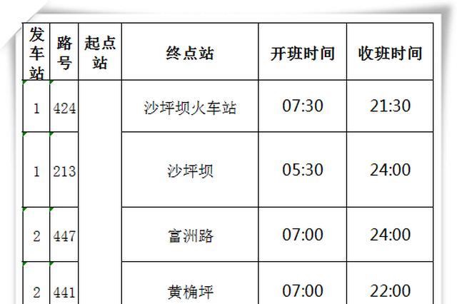 重庆西站25日开通暂无地铁 请认准这13条公交线
