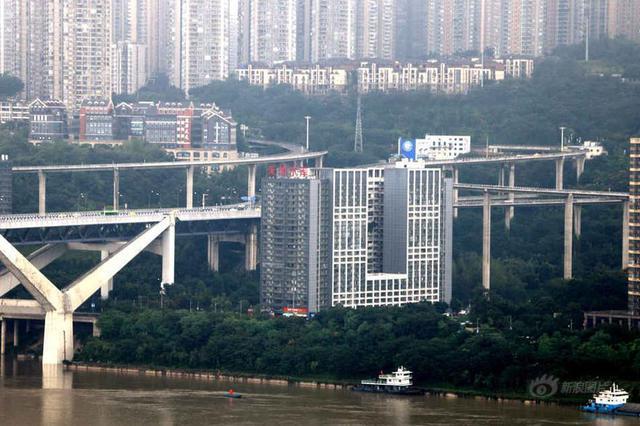 菜园坝立交桥群 让你看看什么是立体城市
