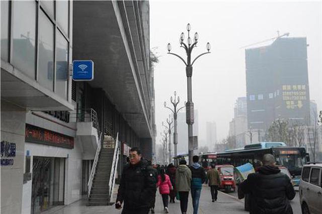 石桥铺商圈公共WiFi全面完工 预计春节后正式开放