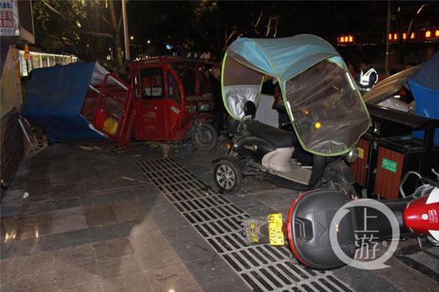 男子喝一斤白酒后醉驾连撞六车 只能在看守所过年了