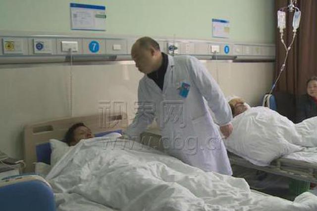 重庆男子突然咳嗽气喘40多天 原是鸡骨头卡在气管