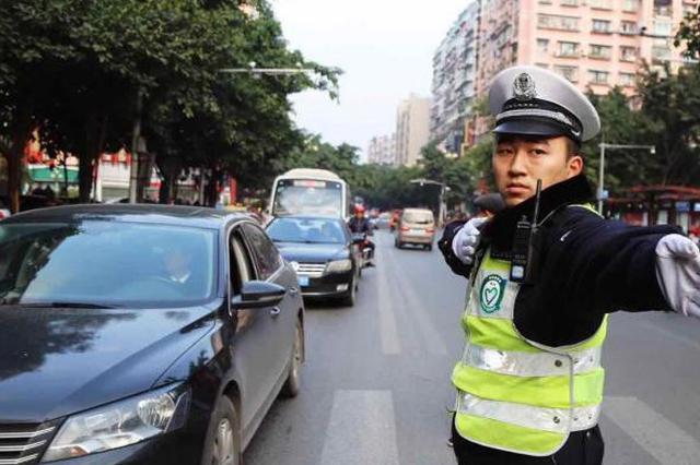 春节期间 重庆交巡警查处交通违法2万余件