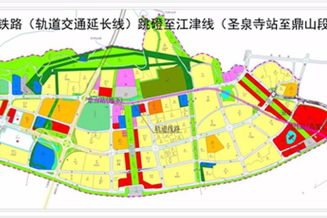 5号线跳磴至江津线路方案公示 计划明年建成通车