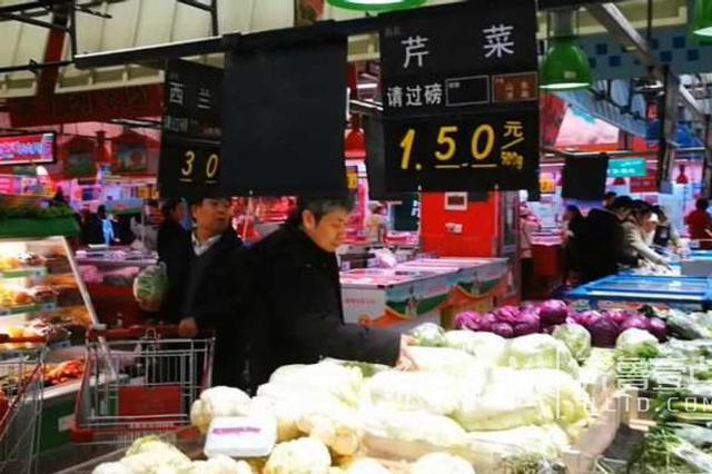 本地蔬菜大量上市 重庆蔬菜价格持续回落