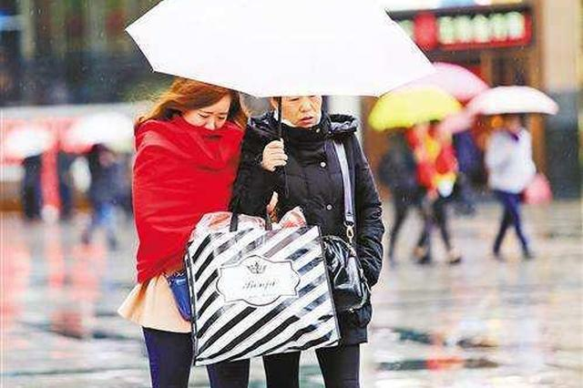 明夜重庆主城降雨降温 降幅将达10℃