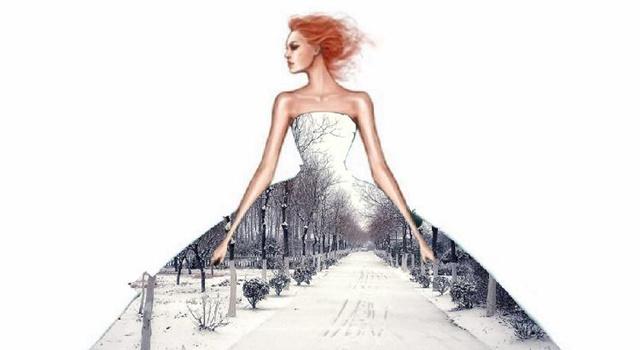 美呆了!高校大学生为校园雪景穿上裙子