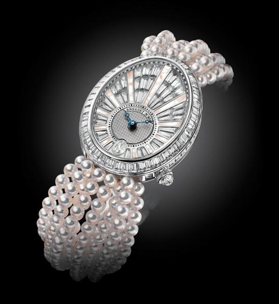 宝玑那不勒斯高级珠宝表