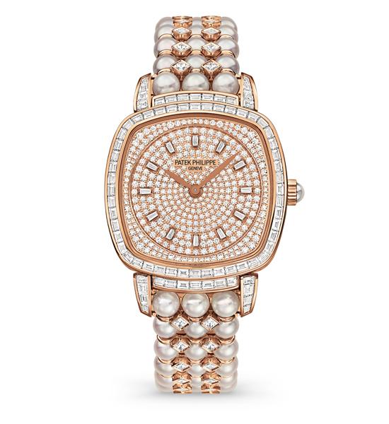 百达翡丽高级珠宝腕表
