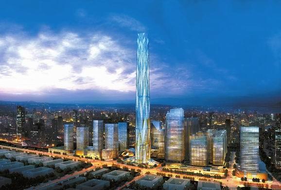 武汉绿地中心-中国有哪些超高层建筑值得期待
