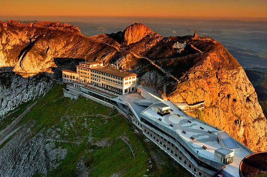 路边难寻 盘点全球最难抵达的酒店