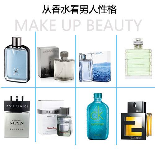 从男士香水看男人性格