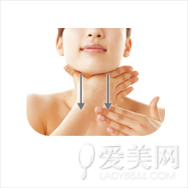 按摩瘦臉4步緊緻臉型減雙下巴美化頸部線條