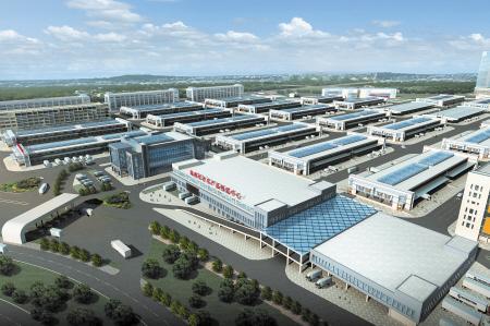 湖南长沙农产品物流中心在黄兴镇开建