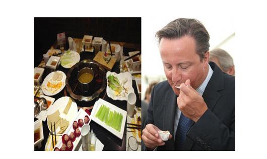 哪些菜+甜点征服了西方各国元首们?(组图)