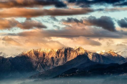 山岳摄影入门技巧 6个基本构图