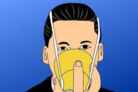 氧气面罩佩戴方法