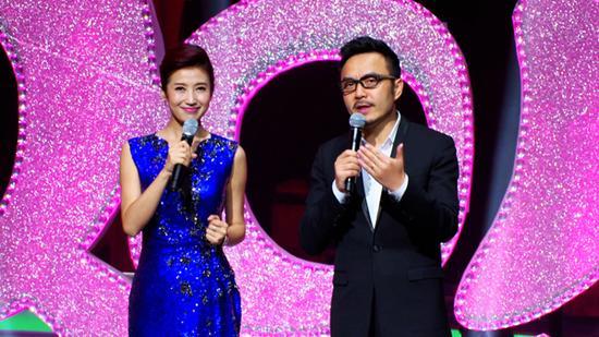 2015中国城市春晚主持人汪涵、春妮