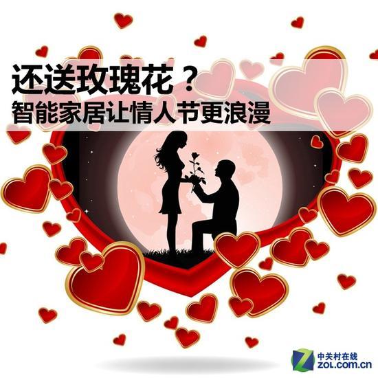 还送玫瑰花?智能家居让情人节更浪漫