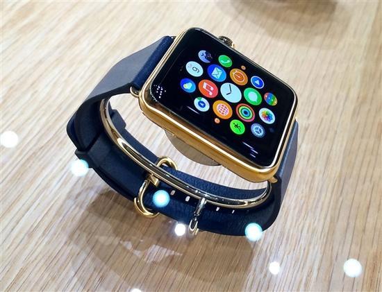 苹果看透中国人?黄金版Apple Watch将大卖