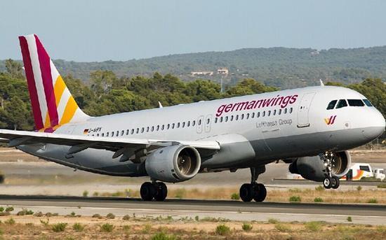 图1.失事的客机注册号为D-AIPX,属于A320-200机型,首飞时间为1990年11月,次年2月交付,到目前为止飞行了24年4个月