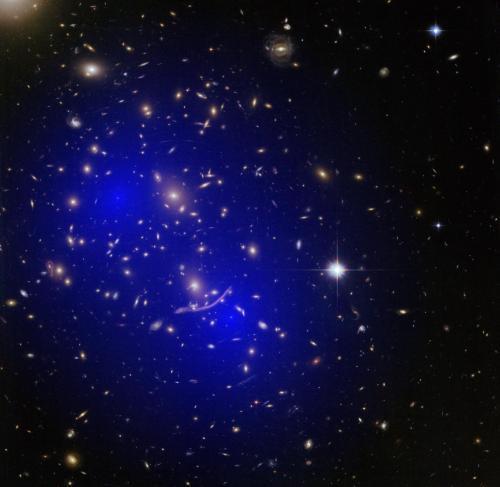 星系对撞背后的真相:暗物质到底是什么?