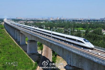 流言揭秘:高铁为什么多建在桥上?