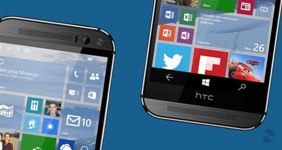 HTC One M8成首个升级Win10的非Lumia手机