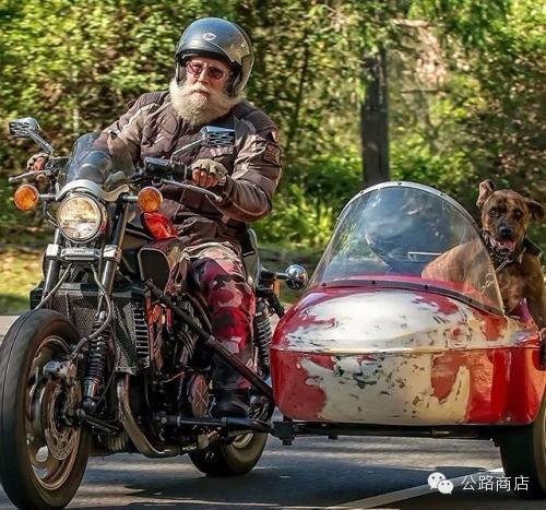 挎斗摩托车是老男人最温柔的小情人