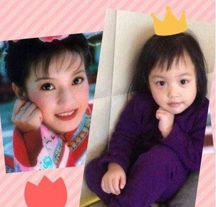 趙薇曬女兒近照 小四月調皮可愛被贊顏值高