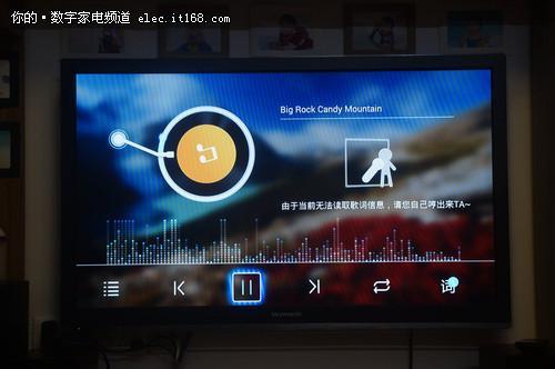 本地音乐播放:   本地音乐目录检测出所有的音频格式文件,支持图片