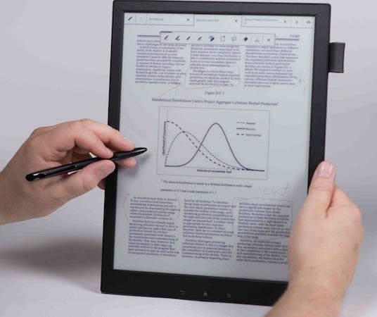 平板再受冲击 电子纸张未来或占据主流