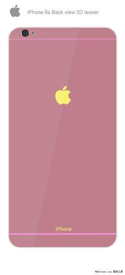 iPhone 6S概念设计再曝:配色大爱
