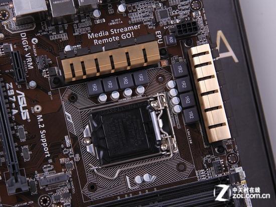 华硕[ASUS]Z97-A 处理器插槽