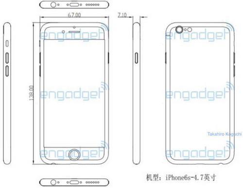 iPhone 6s厚度将增加至7.1mm 或9月亮相第1张图