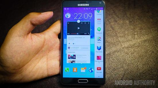 三星Galaxy Note 4(图片引自androidauthority)