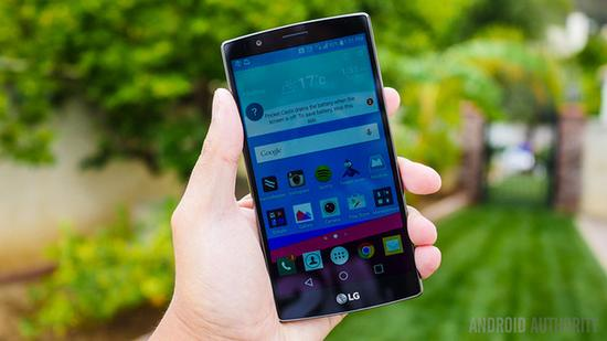 LG G4(图片引自androidauthority)
