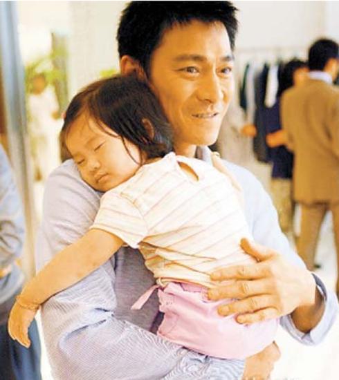 刘德华与女儿(资料图)