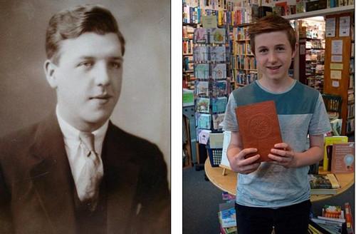 英男孩生日收舊書 發現自己似百年前書主轉世