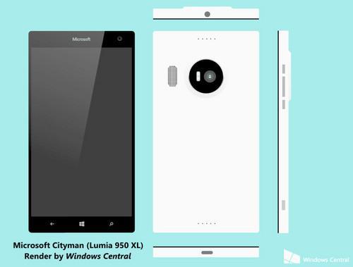 微软Lumia 950提前至9月发布