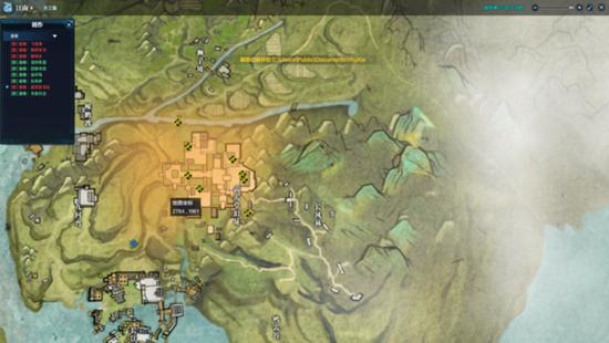 天涯明月刀文士墨宝录地图坐标详细图文攻略