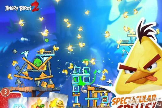 3D引擎制作 + 全新游戏玩法:《愤怒的小鸟2》正式 登陆 iOS/Android平台