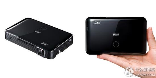 可输出720P高清画质 + 自重仅300克:SANWA SUPPLY(山业)推出 DLP便携式移动投影仪