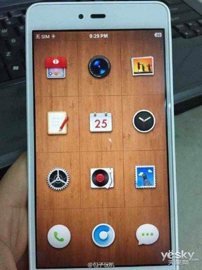 锤子千元手机白色版亮相 采用虚拟按键设计