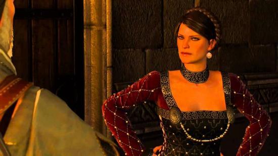 细数《巫师3》中的女汉子们