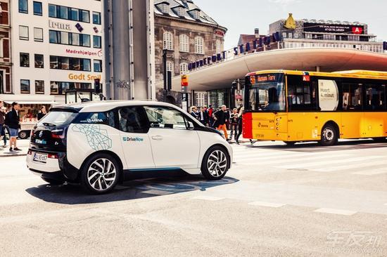 BMW i3汽车共享服务DriveNow-洞悉未来 宝马集团在2015法兰克福车展高清图片