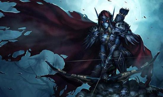 希尔瓦娜斯风行者,高等精灵游侠领袖。尽管他们在堕落的人族王子阿尔萨斯带领亡灵大举入侵之际进行了顽强的抵抗,但还是未能阻止亡灵大军层层压境。游侠领袖希尔瓦娜斯被阿尔萨斯用诅咒魔剑霜之哀伤残忍杀害,不过她不幸的灵魂并没有因此得到安息,而是被黑暗力量转化成为了女妖之王,同样束缚在巫妖王的精神控制之下。后巫妖王力量的渐渐衰退,让本已麻木的她又有了模糊的回忆和思想。面对灭族的死仇,她努力摆脱了巫妖王的控制,发誓与天灾军团势不两立。当阿尔萨斯逃走忙于勤王护驾时,她率领摆脱了巫妖王控制的亡灵军团自立于世,称自