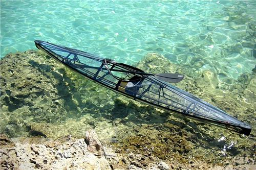 molokini    napali可折叠透明独木舟   clear blue hawaii公司设计的