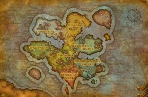 外域地图的翻新
